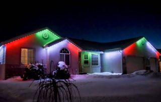 Trimlight holiday lighting